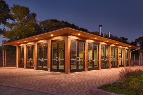 Tamarack Nature Center Construction