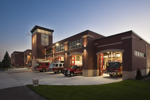 Roseville Fire Station